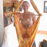 Melanaea Mather, Special Delivery Baby Hammock, Special Delivery Baby Hammock Kea'au, baby hammock, special delivery, womb to world, infant hammock, toddler hammock, organic, organic hammock, hammock hardware, holistic, 100% cotton, Mid-Wife, sling bed, Self-soothing, Peace, Kea'au, Hawaii